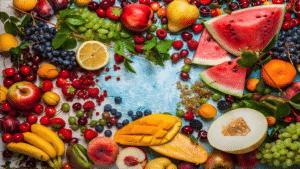Nutrient Rich Fruits for a good night sleep