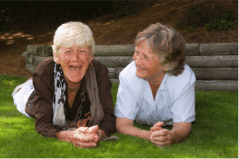 Seniors are Happy - combat socialization