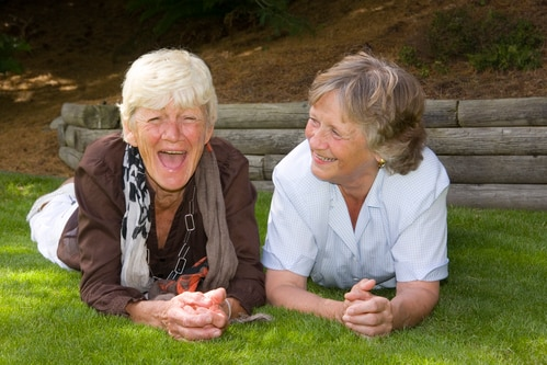 Amenities in Assisted Living - Laughter