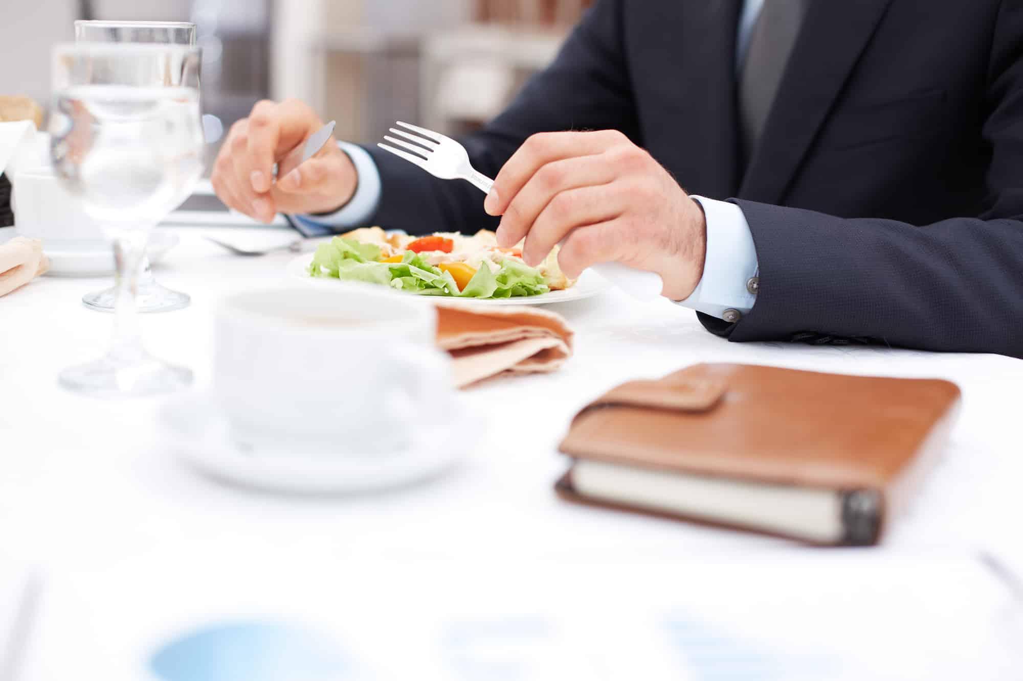 Avanti Senior Living - at business lunch