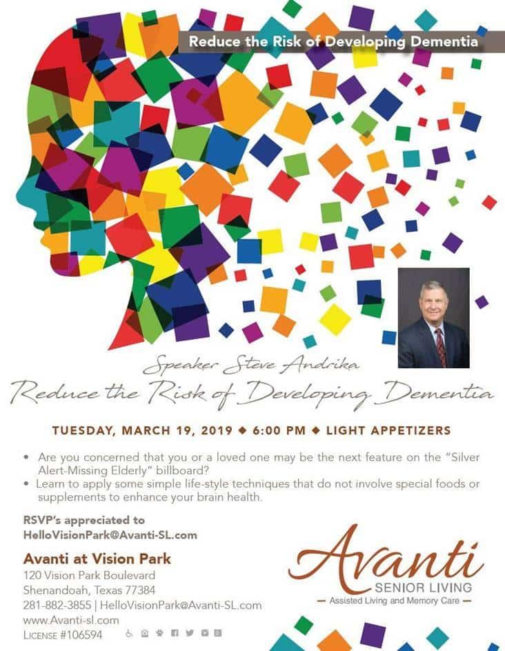 Avanti Senior Living - Dementia Seminar