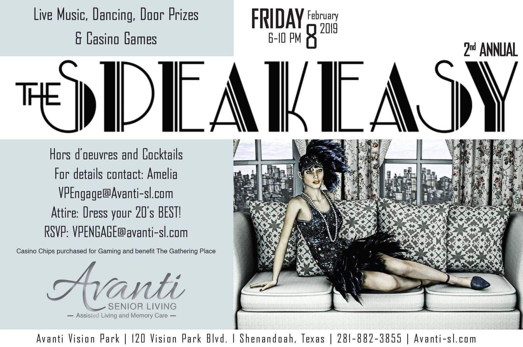Avanti Senior Living - The Speakeasy